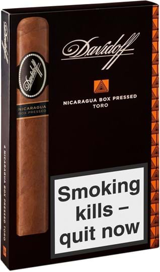 Davidoff Nicaragua Toro Box Pressed 4s