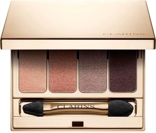 Clarins Eye Shadows Palette N°01, gråbrun