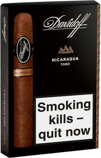 Nicaragua Davidoff Nic Toro Ce TPD2 4s