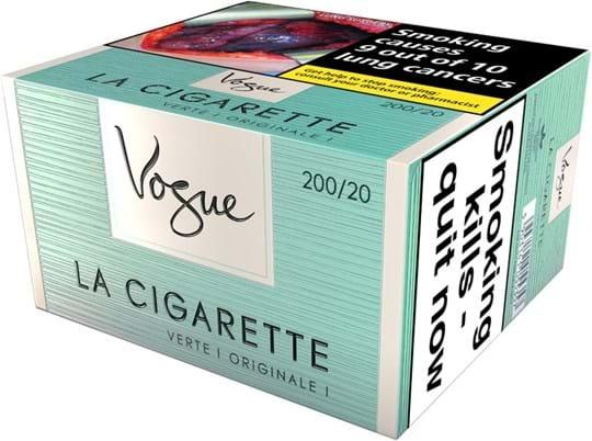 Vogue Superslims Verte-cigaretter 200 stk