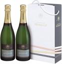 Henriot, Brut Souverain, Champagne, AOC, brut, hvid (dobbeltpakning) 2x0,75L