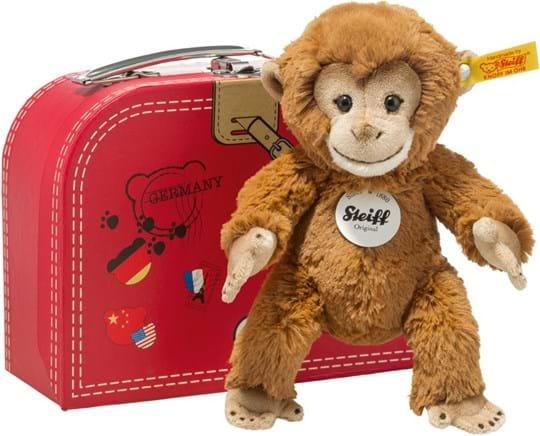 Steiff, monkey liam 20 goldbrown travel retail