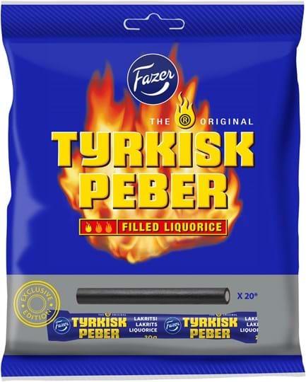 Tyrkisk Peber Liquorice sticks 420g