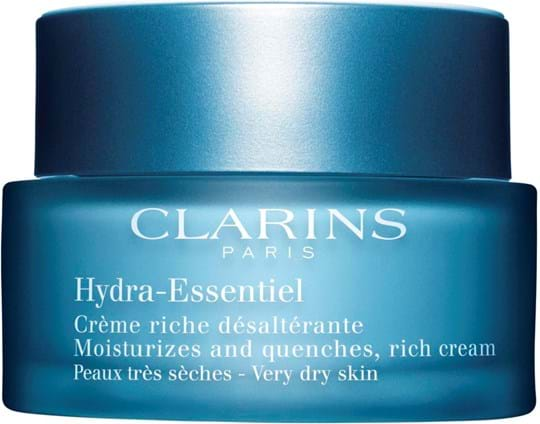Clarins Hydra Essentiel Moisturizes and Quenches, fyldig creme til meget tør hud 50 ml