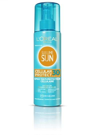 L'Oréal Paris Sublime Sun Cellular Protect Body Spray SPF 30