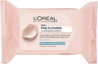 L'Oréal Paris Fine Flowers-renseservietter til normal til kombineret hud