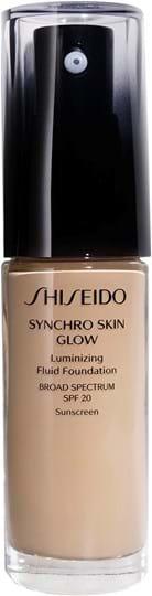 Shiseido Synchro Skin Glow lysende foundation Neutral 3 30ml