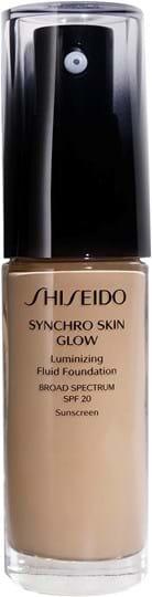 Shiseido Synchro Skin Glow lysende foundation Neutral 4 30ml