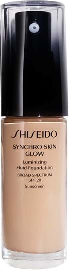 Shiseido Synchro Skin Glow lysende foundation Rose 3 30ml