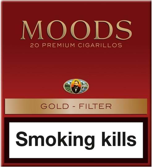 Moods Gold Filter 5x20stk.