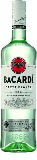 Bacardi Carta Blanca 37,5% 0.2L