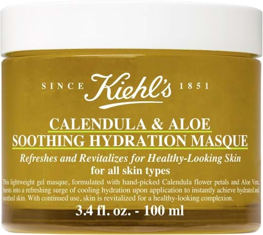 Kiehl's morgenfrue- og aloe-maske 100ml