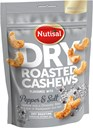 Nutisal – tørristede cashewnødder med peber og salt 140g