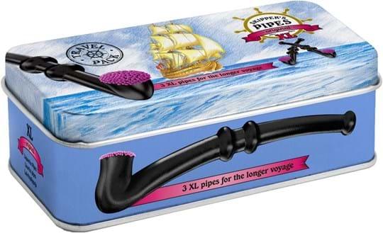 Skipper's Pipes XL metalæske 132g