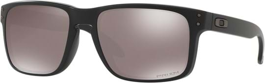 Oakley Performance Lifestyle Men's Sunglasses with a frame made of plastic in black and plastic lenses in polarized black