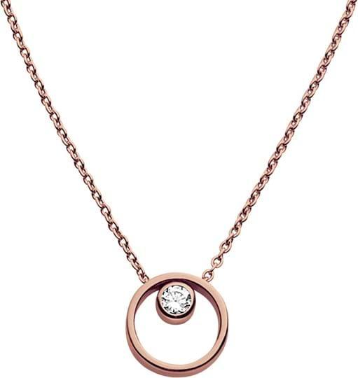 Skagen Elin Women's necklace, stainless steel, rose gold