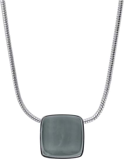 Skagen Sea Glass Women's necklace, stainless steel, silver