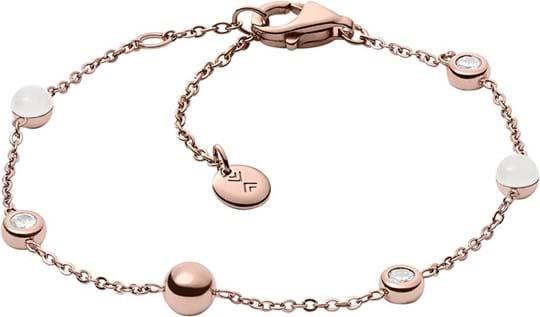 Skagen Sea Glass Women's bracelet, stainless steel, rose gold