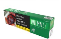 Pall Mall Green BC 200s