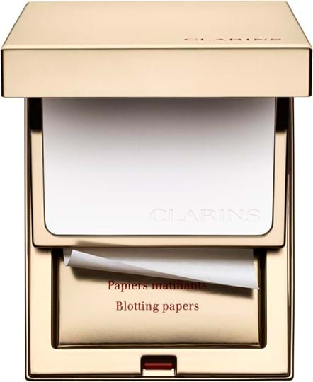 Clarins Teint Pores & Matite Perfecting Powder with Matifying Blotting Papers