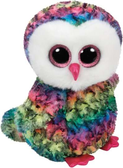 Ty Beanie Boos Owen,Owl multicolored 24cm
