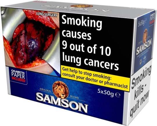 Samson Original RYO 5x50g
