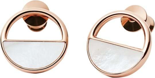 Skagen Elin Women's earrings, stainless steel, rose gold