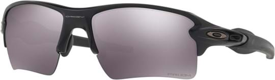 Oakley Sport Performance Men's Sunglasses with a frame made of plastic in black and plastic lenses in black