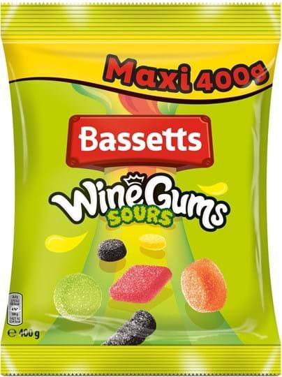 Bassett's Sour Wine gums bag