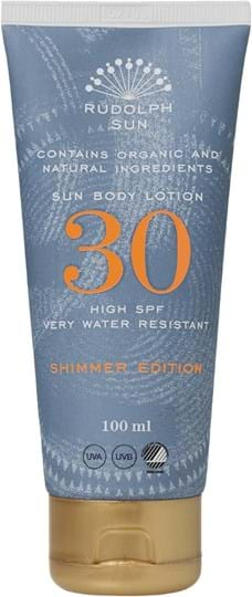 Rudolph Care Sun glitrende bodylotion SPF 30 100 ml