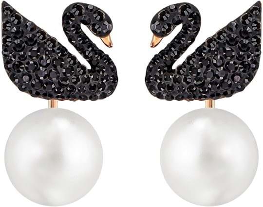 SWAROVSKI, Iconic Swan, women's earring