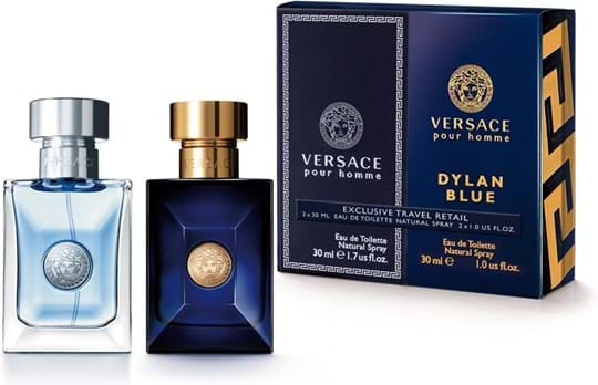Dylan & Homme Mix Duo cont.: Versace pour Homme Eau de Toilette 30 ml + Dylan Blue Eau de Toilette 30 ml (Limited Edition)