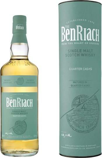BenRiach Quarter Cask Classic 46% 0,7L, gaveæske