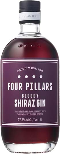 Four Pillars Bloody Shiraz Infused Gin 37.8% 1L