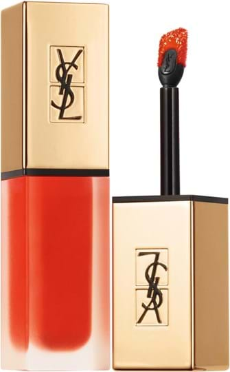 Yves Saint Laurent Tatouage Couture-læbestift med applikator N° 2 Blood Orange Pact