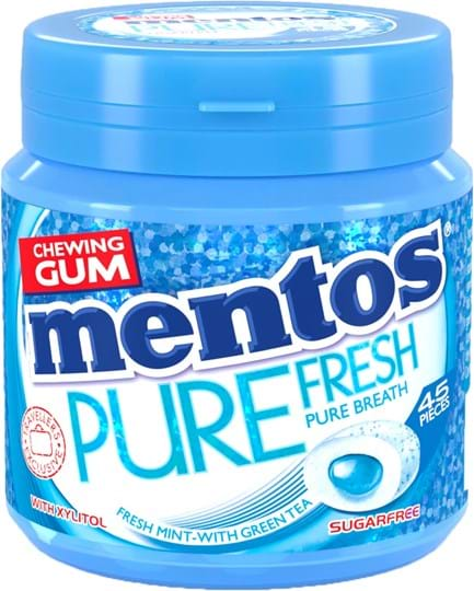 Mentos Gum Pure Fresh Mint 90g