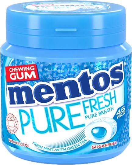 Mentos Gum Pure Fresh Mint, 90g