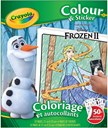 Crayola, crayola frozen 2 - color & stickerbook