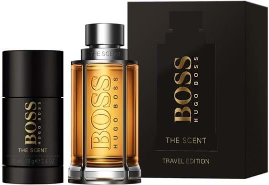 Boss The Scent For Him Set cont.: Eau de Toilette 100 ml (GH 1129847) + Deostick 75 ml (for free)