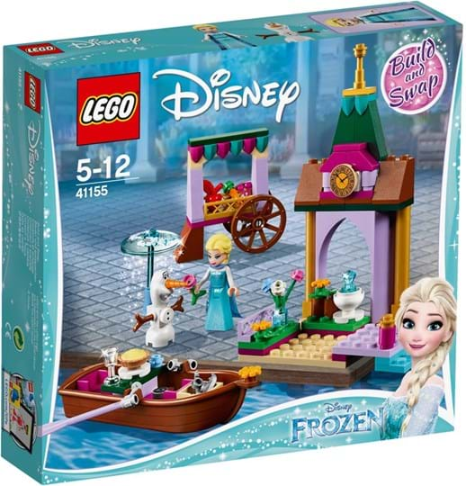 LEGO, Disney Princess, elsa's market adventure