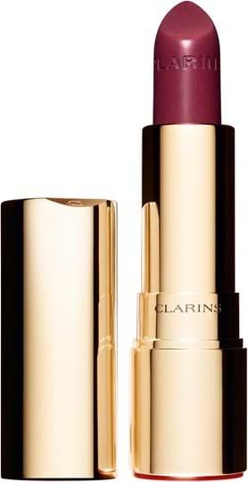 Clarins Joli Rouge Brillant‑læbestift N°33 Soft Plum