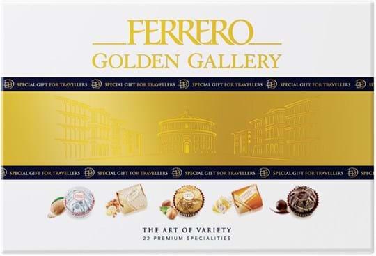 Ferrero Golden Gallery The Art of Variety – 22 førsteklasses specialiteter 206g
