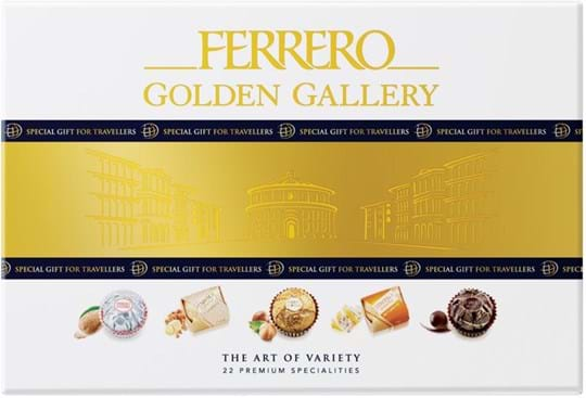 Assortment with the best ferrero classics