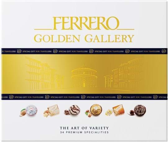 Ferrero Golden Gallery The Art of Variety – 34 førsteklasses specialiteter 315g