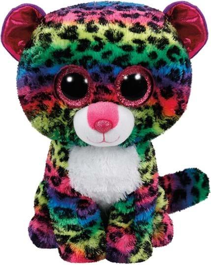 Ty, Beanie Boos, dotty leopard - beanie boo medium