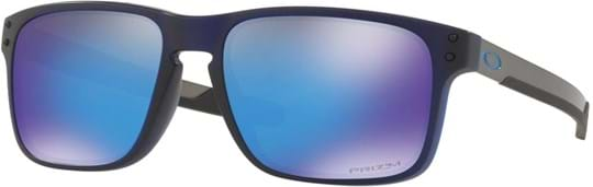 Oakley Men's Sunglasses with a frame made of plastic in blue and plastic lenses in blue