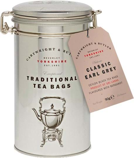 C&B Earl Grey Tea Caddy 90g