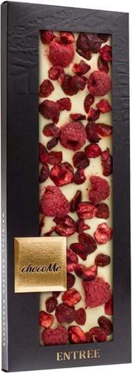 ChocoMe – hvid chokolade med tranebær 110g