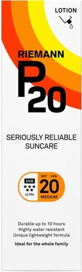 P20 SPF20 Lotion 10 Hours Sun protection, very water resistant 200 ml
