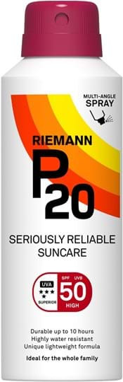 P20 SPF50 Pump Spray 10 Hours Sun protection, very water resistant 200 ml